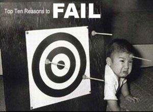 10 Reasons to Fail